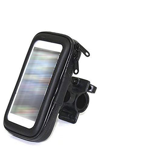 K-S-Trade Compatible avec Samsung Galaxy S5 Active Bike Mount Support Guidon Vélo Moto Quad Scooter Etc Étanche Étui Housse Titulaire Montage Antichoc Hydrofuge