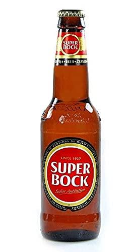 Portugiesisches Bier/Cerveza portuguesa Super Bock - 12 Flaschen