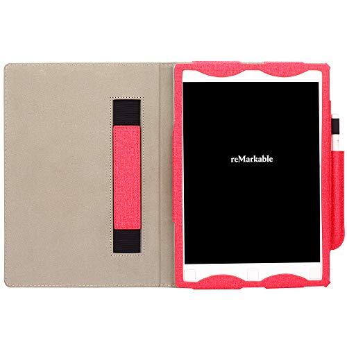 VOVIPO Remarkable Digital Paper Case, Ultra Slim Book Folio Leather Case For Remarkable Digital Paper