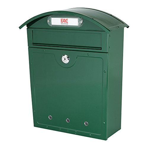 FAC Mediterraner Briefkasten, Farbe grün