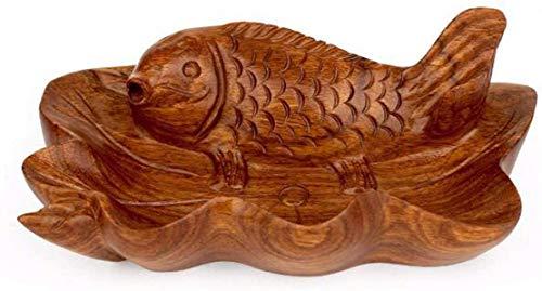Preisvergleich Produktbild MWPO Redwood Haushalts Aschenbecher Büro Kreative Persönlichkeit Retro-Vintage Massivholz Wohnzimmer Schöne angeordnet Aschenbecher