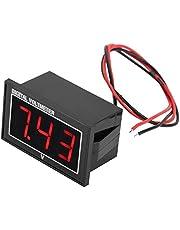Digitale 0,56 ″ LED Voltmeter Ampèremeter, Voltage Display Module Waterdicht Hoge Precisie Voltmeter DC Voltage Meter Paneel(DC2.5-30V-Rood)