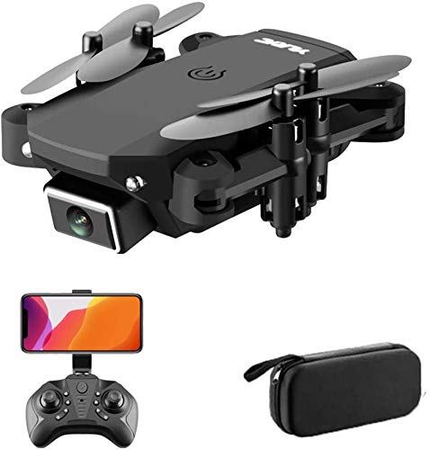 Drone Mini 4K Ultra HD Dual Fotocamera, FPV WiFi Quadb Compter Followami modalità Controllo Gesto, modalità Senza Testa, Rotolo a 360 °, per Principianti per Bambini LQHZWYC