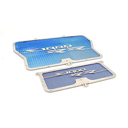 Parrilla del radiador Cubierta de Guardia de la Rejilla del radiador de la Motocicleta para B-M-W para S1000RR S1000 RR ABS K46 2009-2015 (Color : Azul)