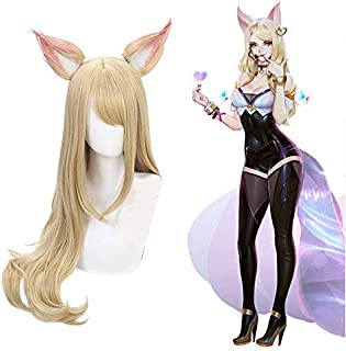 Ani·Lnc wig Game Character Cosplay Wigs 80cm Heat Resistant Synthetic Hair Perucas Cosplay Wig
