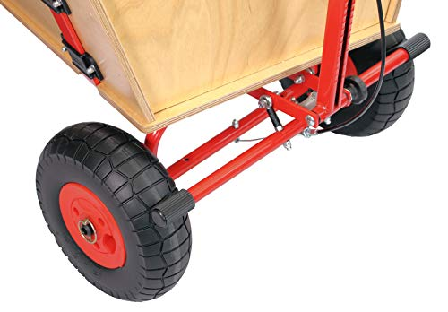 ECKLA Betriebs- und Feststellbremse passend für alle ECKLA-Bollerwagen - Neue Ausführung / nachrüstbar / Gewicht: 2 kg