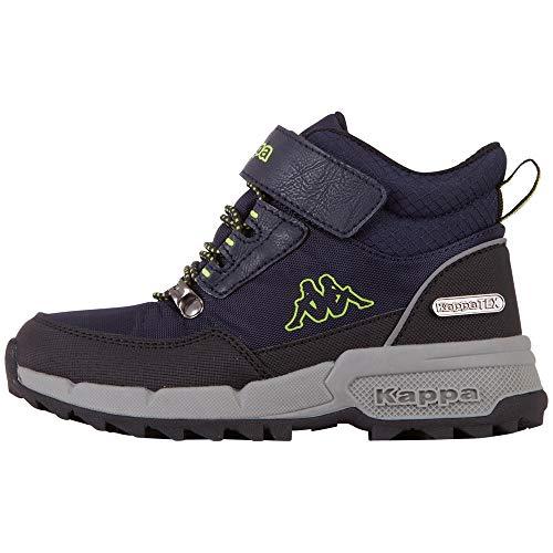 Kappa JASSO Tex K Unisex Kids, Zapatillas para Correr de Carretera, 6730 Azul Marino, 28 EU