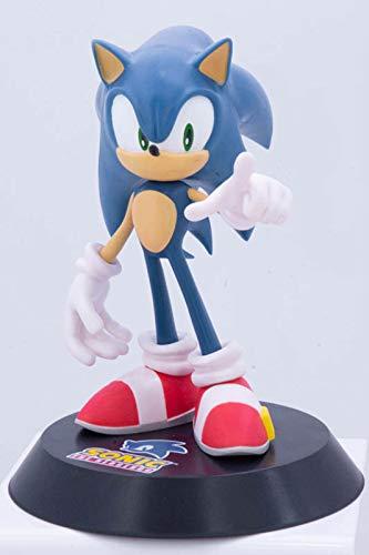 Figura Sonic Hedgehog Erizo con Base...