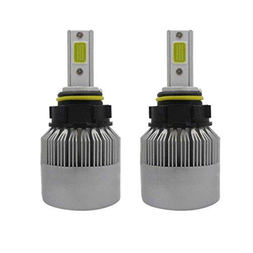 Guangcailun 1 par T2 D2S / D4S 55W 6000K LED de la Linterna del Coche Bombillas de los Faros del Coche Lámpara de Repuesto 6000K Alto Brillo de la lámpara del Faro de luz