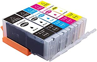 Myink Compatible Canon 680xl 681xl Ink Cartridges, PGI-680 XL Cli-681 XL Ink Replacement for Canon PIXMA TR7560 TR8560...