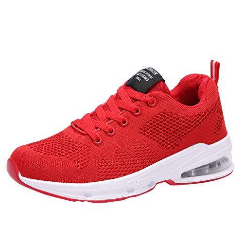 Vovotrade Air Sportschoenen, dames, hardloopschoenen, tieners, ademend, comfortabel, licht, turnschoenen, lage sneakers, demping, antislip, sportschoen, vrijetijdsschoen