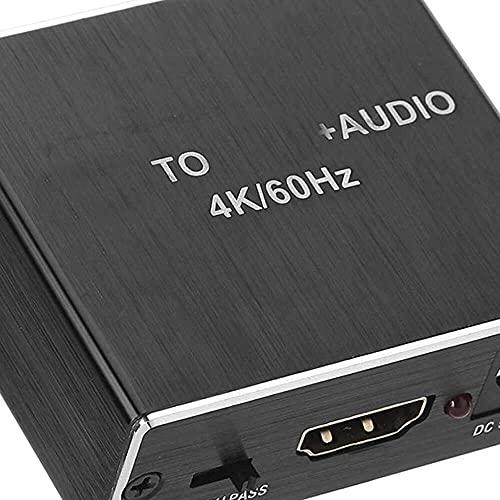 Yuyanshop Ljud extraktor passiv högtalare väljare delare box ljuddelning multifunktion ljudsplitter ljudbrytare gåva för fabrik hem kontor