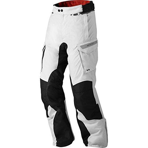Revit! Textilhose Sand 2, Farbe Silber-schwarz, Größe L