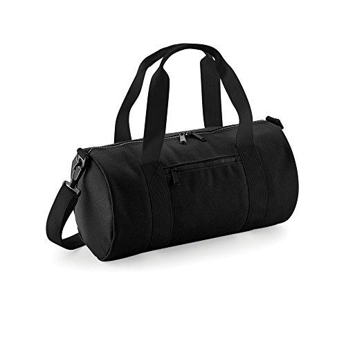 Bagbase Mini Sporttasche (Einheitsgröße) (Schwarz/Schwarz)