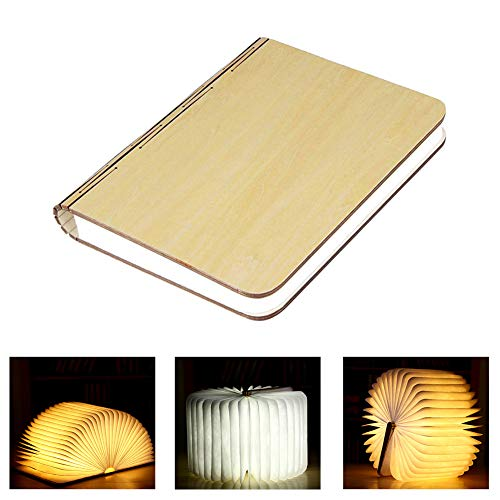 Wooden Book  Lamp