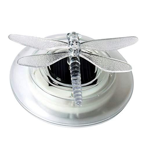 Homyl Schwimmende Schmetterling/Libelle Solarlampe Poolbeleuchtung für den Garten, Schwimmbecken,Teich Deko, Wasserdicht - Libelle