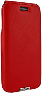 Piel Frama iMagnum Wallet Case for Samsung Galaxy S6 Edge Plus - Red