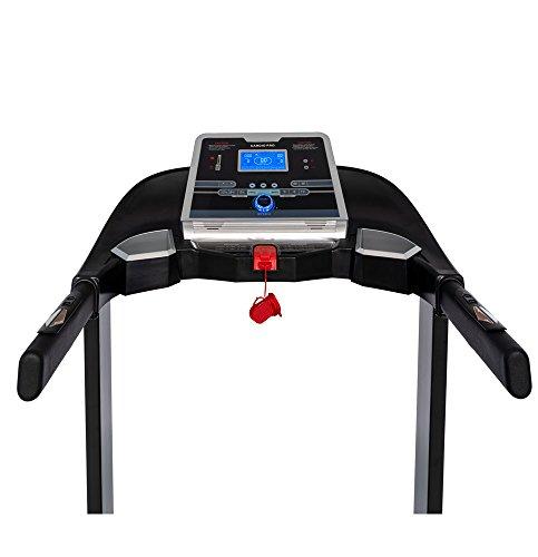 Branx Fitness Foldable 'Cardio Pro' Touchscreen Console Treadmill – 17.5km/h – 6hp – 0-20 Level Auto Incline – Body Fat…