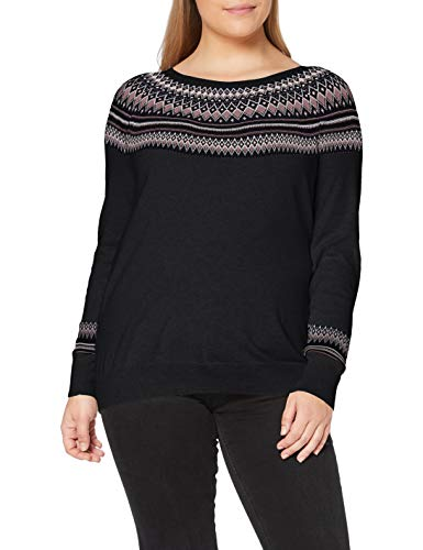ESPRIT Damen 090EE1I336 Pullover, 403/NAVY 4, XS