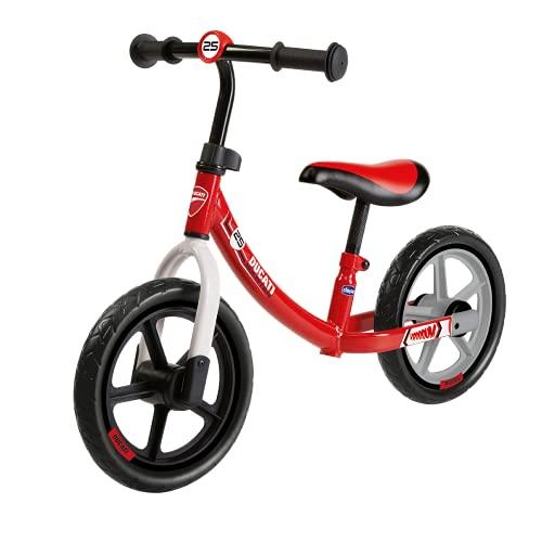 Chicco Ducati Monster Balance Bike, Bicicletta Bambini Senza Pedali per l'Equilibrio, con Manubrio e Sellino Regolabili, Max 25 kg, Rosa, 2-5 Anni