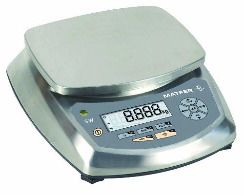 Balance compacte professionnelle tout inox, modèle SW 6