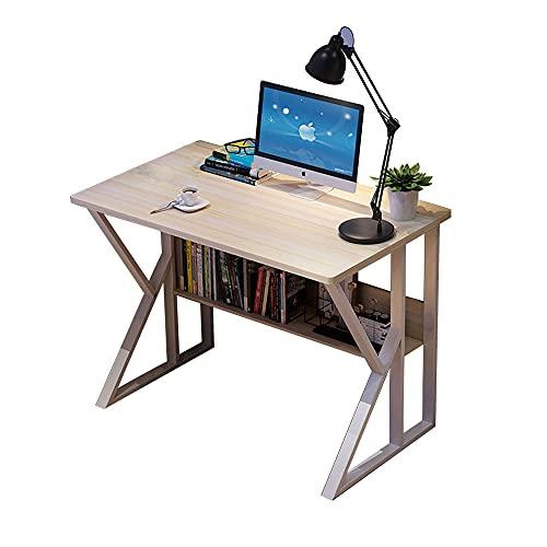 Escritorio de computadora Simple, Escritorio para el hogar, Escritorio para el Dormitorio, Soporte de Carga Estable, Multiusos, tamaños