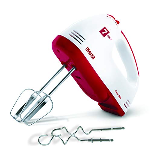 Inalsa Hand Mixer Easy Mix-200W with 7 Speed Control & Detachable Stainless-Steel...