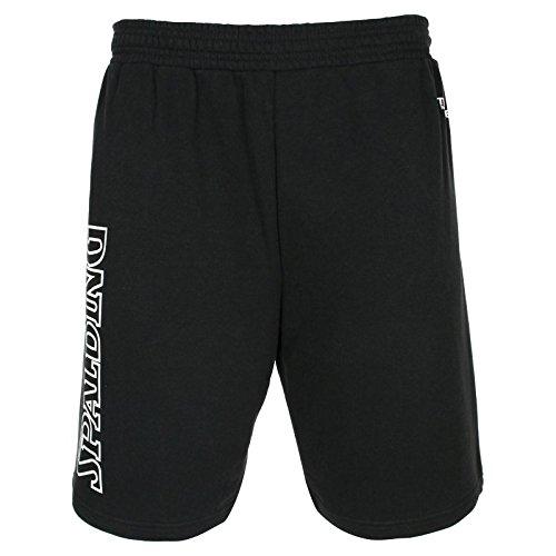 Spalding Herren Team II Shorts, schwarz, L