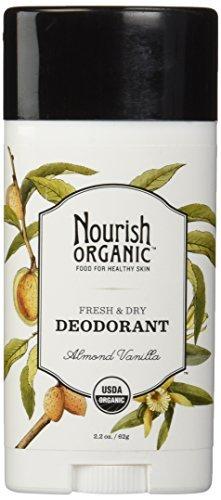 Nourish Organic Stick Deodorant, Almond Vanilla, 2.2 Ounce by Nourish Organic