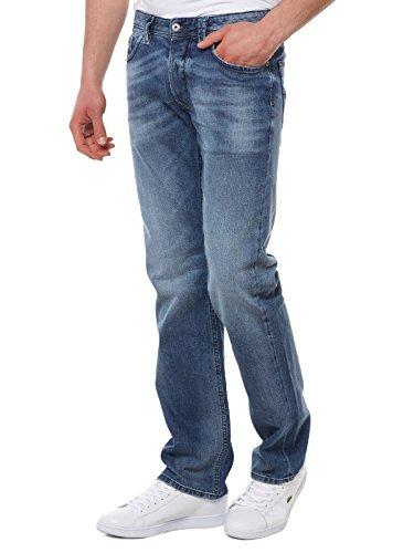 Diesel Herren Straight Jeans Larkee L.32 Pantaloni, Blau (Light Blue 0853P), W30/L32