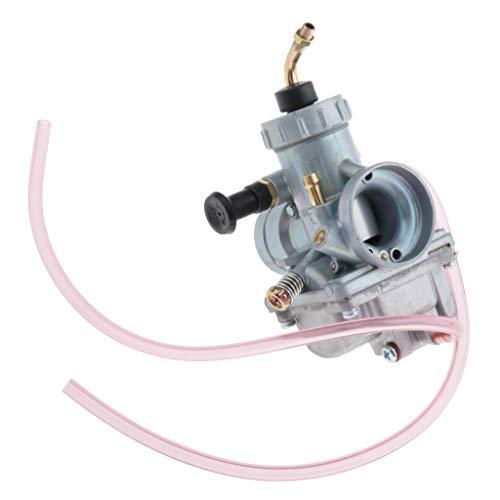 H HILABEE Paquete de 1 Conjunto de Carburador para RXKING DT125 RM85 + Tubo de Banda de 28 Mm