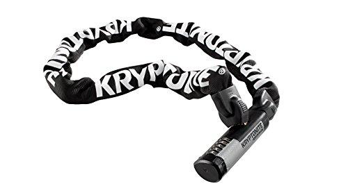 Kryptonite Kryptolok 912 9.5mm Combo Chain Bicycle Lock , Black