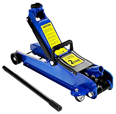 VViViD 2 Ton Racing Jack - Low Profile Steel Hydraulic Floor Jack