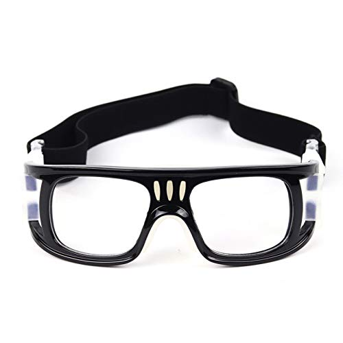 Yopria Basketballbrille Fußball Sportbrille Outdoor Sport Basketball Brille, verstellbare elastisch gewickelte Schutzbrille Basketball Fußballbrille YR20901