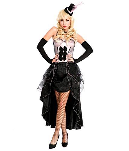 MSSugar Disfraz de Fiesta de Halloween para Mujer, Disfraz de Pavo Real, Disfraz de Cantante de Discoteca, Traje de Escenario, Trajes de Juego