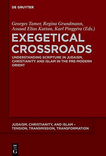 Exegetical Crossroads: Understanding Scripture in Judaism, Christianity and Islam in the Pre-Modern Orient (Judaism, Christianity, and Islam – Tension, ... Transformation Book 8) (English Edition)