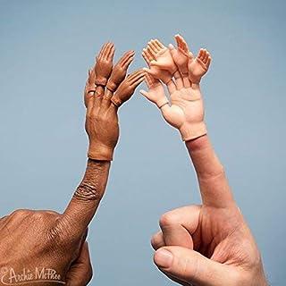 Finger Hands For Finger Hands (5 Assorted Color Finger Hands Bulk)