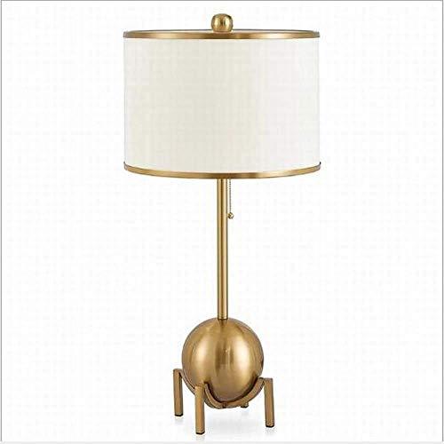 N/Z Home Equipment Tischlampe Einfache Hardware Kreative Personalisierte Schlafzimmer Nachttisch Moderne Antike Bronze Tischlampe