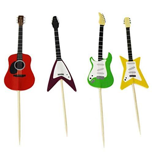 AMOYER 24pcs / Set de Guitarra Magdalena Selecciones Forma del Instrumento Musical...
