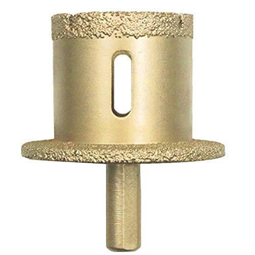 HUAHUA Taladro Core Bit desgaste Taladro Resistente velocidad rápida talla de piedra concreto del azulejo con soldadura de latón diamante Abrasión seca al vacío de cerámica de la mano de instalación s