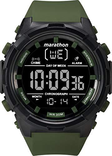 Timex Herren Digital Uhr mit Harz Armband TW5M22200