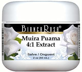 Extra Strength Muira Puama (Potency Wood) 4:1 Extract - Salve Ointment (2 oz, ZIN: 514233) - 2 Pack
