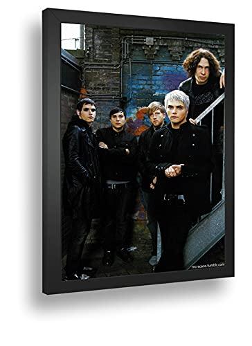 Quadro Decorativo Poste My Chemical Romance Band Rock