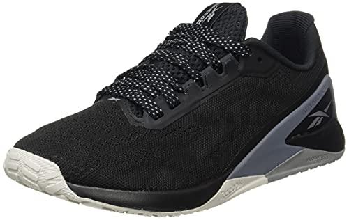 Reebok Nano X1, Zapatillas Deportivas Mujer, Negro/COLSHA/CDGRY4, 38 EU