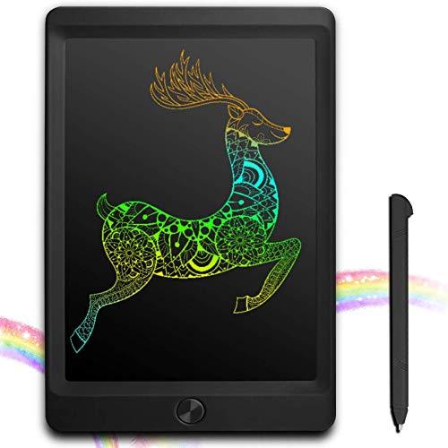 JOEAIS Tablette d'écriture LCD Coloré 8.5 Pouces d'écriture électronique Planche à Dessin numérique Tablette Graphique de Dessin Convenant aux Enfants, à la Maison, à l'école et au Bureau (Noir)