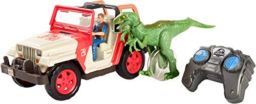 JURASSIC WORLD RC VEHICLE Jeep Wrangler Raptor Attack RC