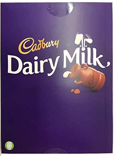 Cadbury Dairy Milk Original Chocolate Big Bars 4 Pack of 300g