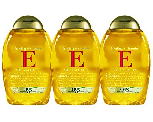 Ogx Shampoo Vitamin-E & Healing 13 Ounce (384ml) (3 Pack)