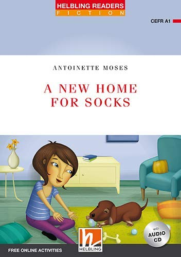 A New Home for Socks, mit 1 Audio-CD. Level 1 (A1): Helbling Readers Red Series