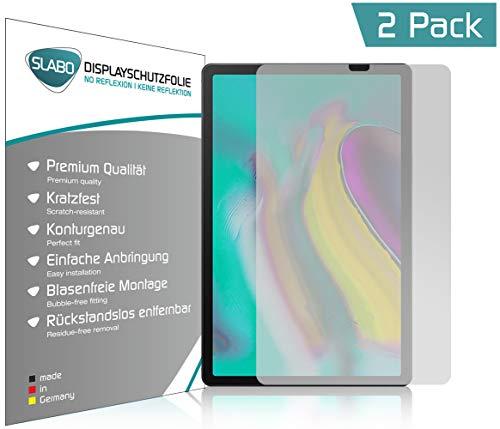 Slabo 2 x Bildschirmschutzfolie für Samsung Galaxy Tab S5e T720 | T725 (10.5